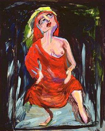 lady modern art